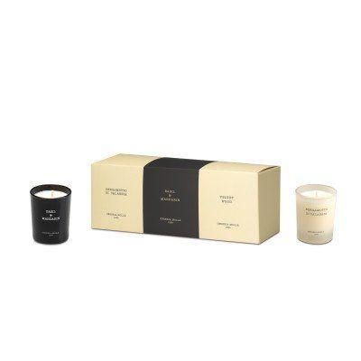 Pack 3 Bougies Bergamotto di calabria, Basil&Mandarin, Velvet wood - 70gr CERERIA MOLLA 1899  - artisanal