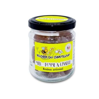 Bonbon artisanal Miel- Pomme & Cannelle Rucher du Chanteloup - artisanal