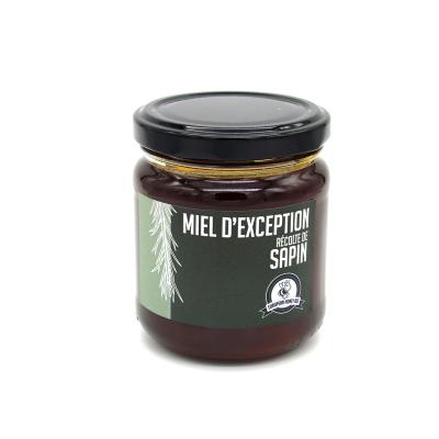 Honey of exception harvest of fir tree Rucher du Chanteloup - artisanal