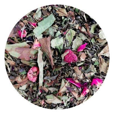 Thé blanc groseille framboise Rose FBKT - artisanal