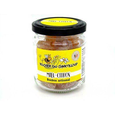 Homemade honey-lemon candy Rucher du Chanteloup - artisanal