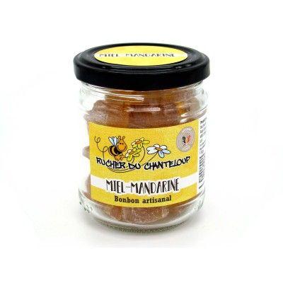 Bonbon artisanal Miel-Mandarine Rucher du Chanteloup - artisanal