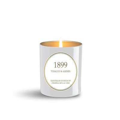 Bougie Tobacco & Amber premium 230gr - CERERIA MOLLA 1899 Cereria Molla 1899 - artisanal