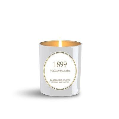 Candle Tobacco & Amber premium 230gr - CERERIA MOLLA 1899 Cereria Molla 1899 - artisanal