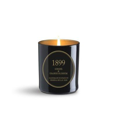 Bougie Ginger & Orange Blossom premium 230gr - CERERIA MOLLA 1899 Cereria Molla 1899 - artisanal