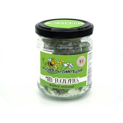 Bonbon artisanal Miel-Eucalyptus Rucher du Chanteloup - artisanal