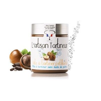 Popping  chocolate spread - L'artisant tartineur L'artisan Tartineur - artisanal