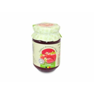 Jam - Strawberries Without Sugar - Artisanale d'Aubel Siroperie Artisanale d'Aubel - artisanal