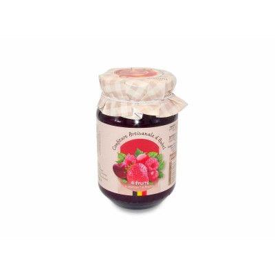 Jam - 4 fruits - Artisanale d'Aub Siroperie Artisanale d'Aubel - artisanal