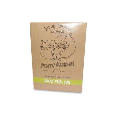 100% Pur Jus Pom'Aubel 3L cube Siroperie Artisanale d'Aubel - artisanal