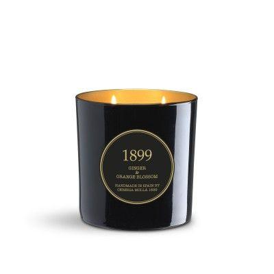 Bougie Ginger & Orange Blossom Gold Edition 600gr - CERERIA MOLLA 1899 Cereria Molla 1899 - artisanal