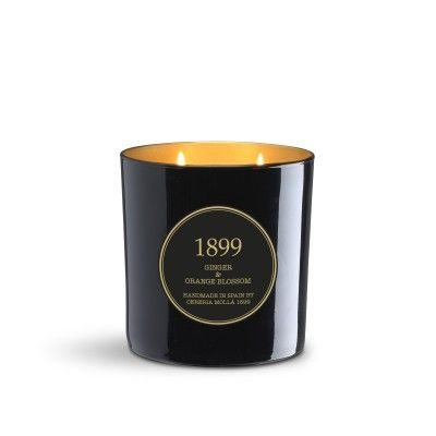 Candle Ginger & Orange Blossom Gold Edition 600gr - CERERIA MOLLA 1899 Cereria Molla 1899 - artisanal