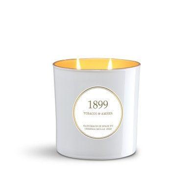 Bougie Tobacco & Amber Gold Edition 600gr - CERERIA MOLLA 1899 Cereria Molla 1899 - artisanal