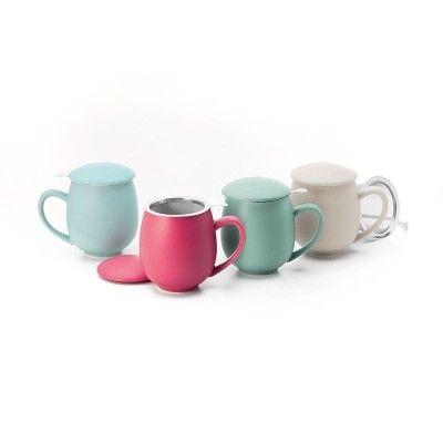 Tasse infusion 0,35 litre couleur pastel  - artisanal