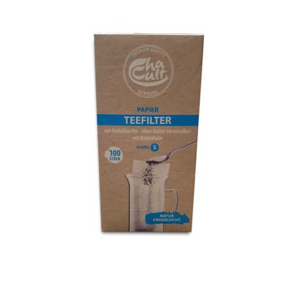 Boite de 100 filtres papier taille S Chacult  - artisanal