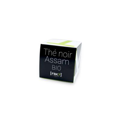 Boite Pyramide - Thé noir Assam Bio FBKT - artisanal