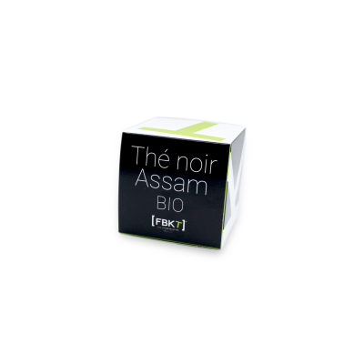 Pyramid Box - Assam Organic Black Tea FBKT - artisanal