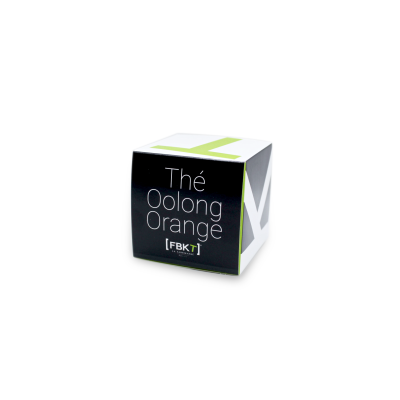 Pyramid Box - Orange oolong tea FBKT - artisanal