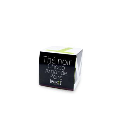 Pyramid Box - Black Tea Choco Almond Pear FBKT - artisanal