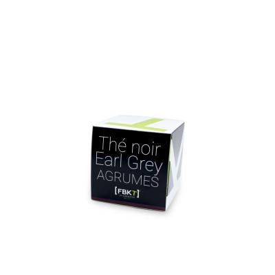 Boite Pyramide - Thé noir Earl Grey Agrumes FBKT - artisanal