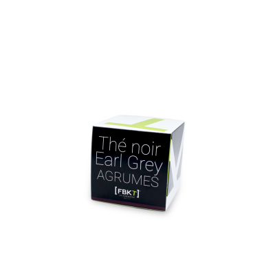 Pyramid Box - Earl Gray Citrus Black Tea FBKT - artisanal