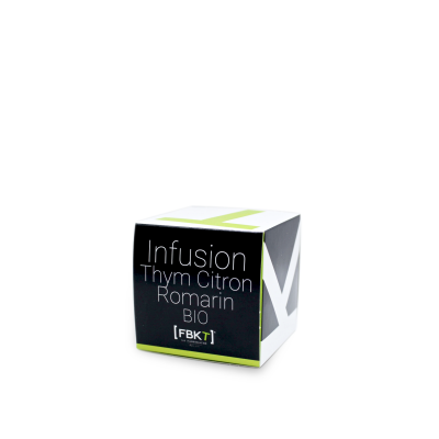 Pyramid Box - Organic Thyme Lemon Rosemary Infusion FBKT - artisanal