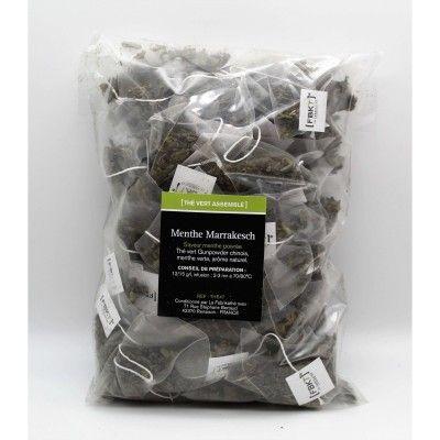 Refill bistrot Pyramid Box - ORGANIC Marrakech Mint Green Tea FBKT - artisanal