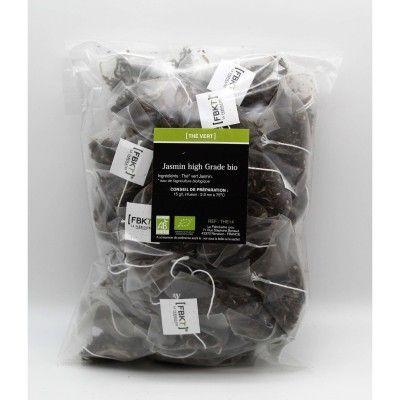 Refill Bistrot of Pyramid Box - Organic Jasmine Green Tea FBKT - artisanal