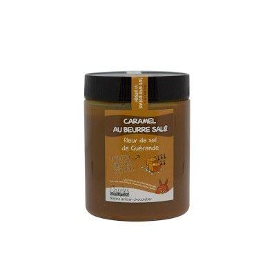 Pâte à tartiner - Caramel beurre salé et fleur sel de Guérande - 570Gr Chocolartisan - artisanal