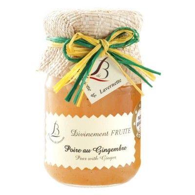 Bernadette de Lavernette - Pear with Ginger Bernadette de Lavernette - artisanal