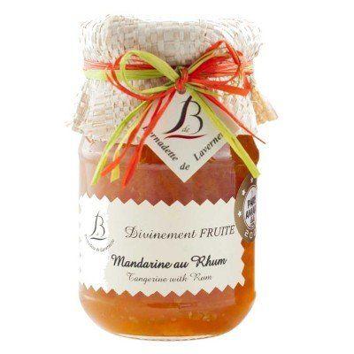 Bernadette de Lavernette - Mandarine au Rhum Bernadette de Lavernette - artisanal