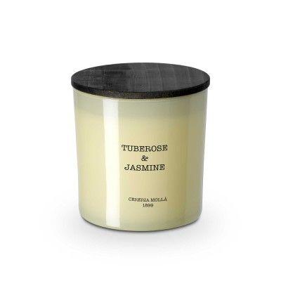 Candle tuberose & jasmine premium 600gr - CERERIA MOLLA 1899 Cereria Molla 1899 - artisanal