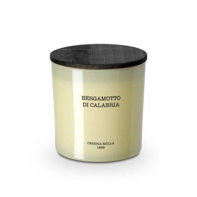 Bougie bergamotto di calabria premium 600gr - CERERIA MOLLA 1899 Cereria Molla 1899 - artisanal