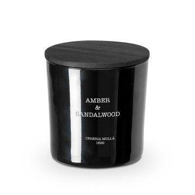 Candle amber & sandalwood premium 600gr - CERERIA MOLLA 1899 Cereria Molla 1899 - artisanal