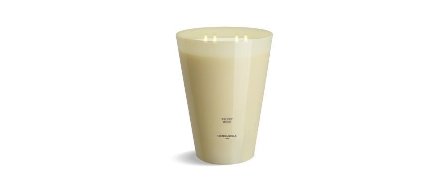Candle 100% handmade large format up to 400h