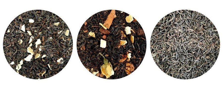 Assembled black teas