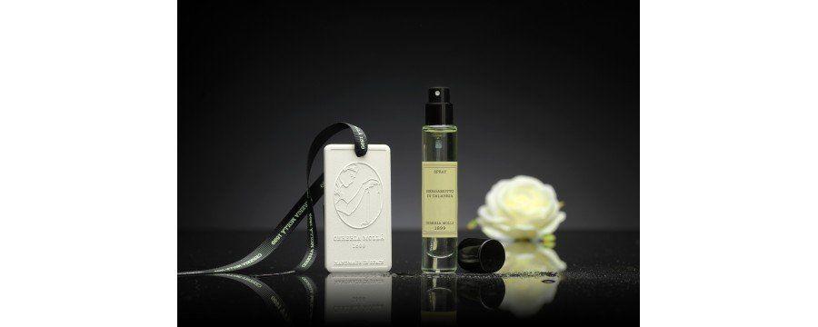 Spray parfumé d'ambiance céramique pour armoire, maison, voiture, artisan Cereria Molla 1899