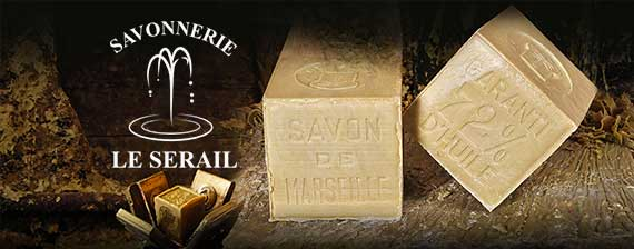 Soaps of Marseille the handmade Serail