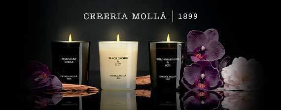 Cereria molla scented handmade candles
