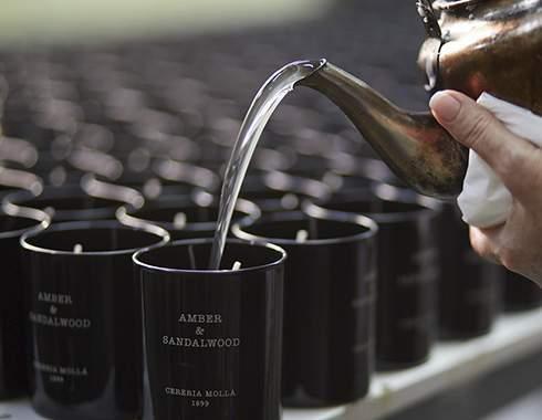Bougies artisanal parfumée cereria molla